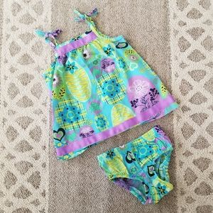 Hanna Andersson Pillowcase Dress Size 70 6-12 Mo.